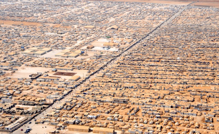 Refugee Camp, photo by world bank.